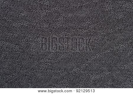 Black Nonwoven Fabric Background