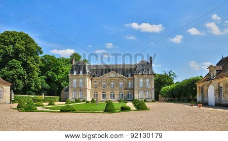 France, The Picturesque Village Of  Boury En Vexin