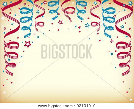 Independence day celebration card