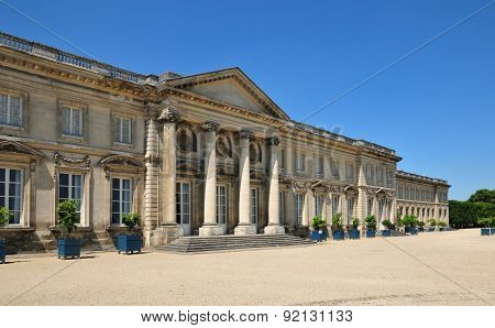 Picardie, The Picturesque Castle Of  Compiegne In Oise