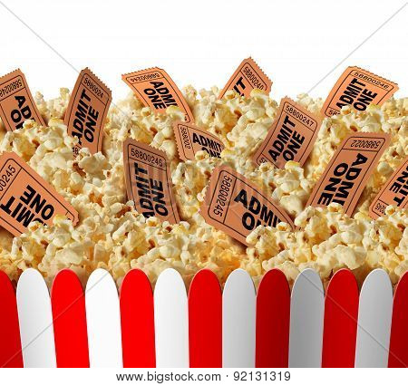 Movie Popcorn Tickets