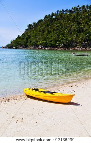 Asia In   Bay The  Koh Phangan  Isle  South China Sea