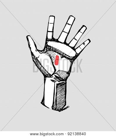 Jesus Christ Hand