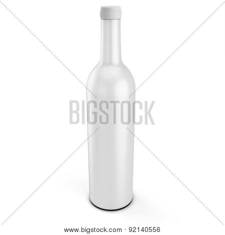 3D Blank Product Bottle Mockup