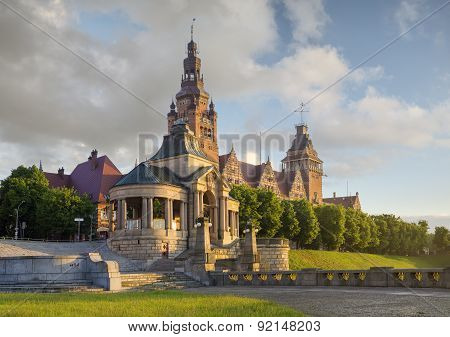 Haken terraces,Szczecin,Poland