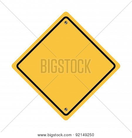 caution label over white background vector illustration