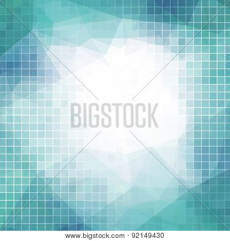 abstract background with squares for business