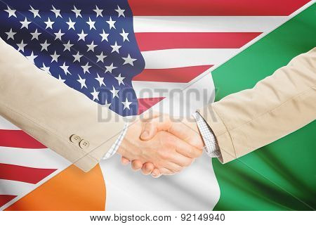Businessmen Handshake - United States And Ivory Coast