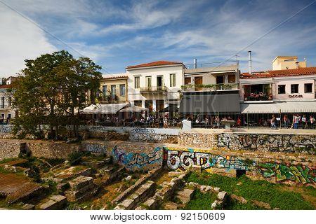 Thissio, Athens.