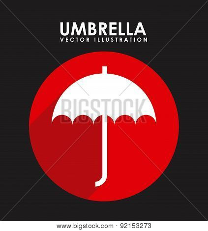 insurance design over black  background vector illustration