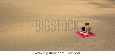 Desert Laptop