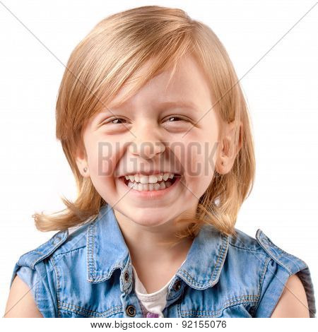 Cute Laughing Girl