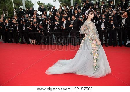 Fan Bingbing attends the 'Mad Max : Fury Road' Premiere during the 68th annual Cannes Film Festival on May 14, 2015 in Cannes, France.