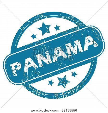 PANAMA round stamp