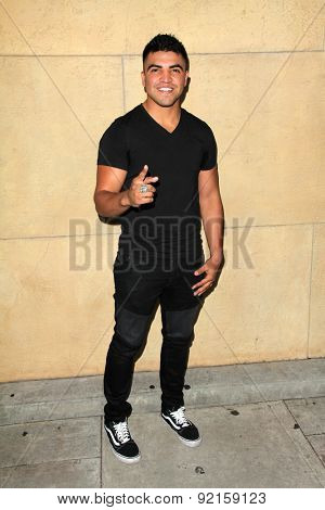LOS ANGELES - MAY 6:  Victor Ortiz at the