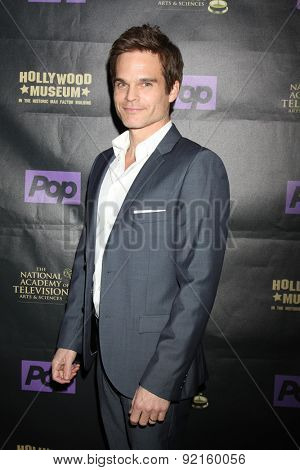 LOS ANGELES - FEB 21:  Greg Rikaart at the  2015 Daytime EMMY Awards Kick-off Party at the Hollywood Museum on April 21, 2015 in Hollywood, CA