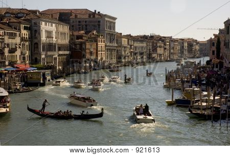 Grand Canal In The Evening