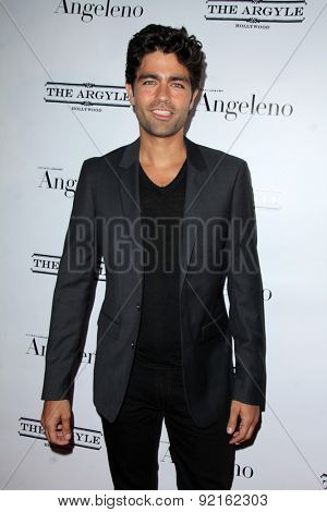 LOS ANGELES - MAY 31:  Adrian Grenier at the Angeleno Magazine  June 2015 Issue Party with Cover Man Adrian Grenier at the The Argyle on May 31, 2015 in Los Angeles, CA