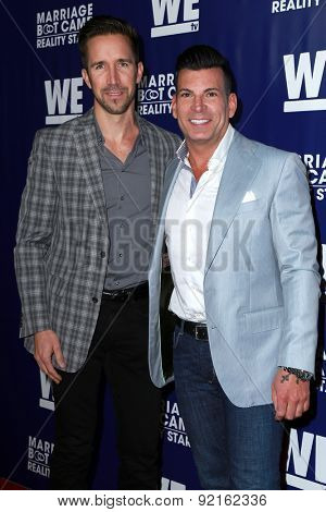 LOS ANGELES - MAY 28:  Joey Toth, David Tutera at the WE tv's