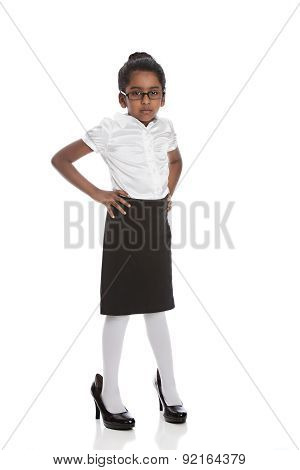 Little Business Woman