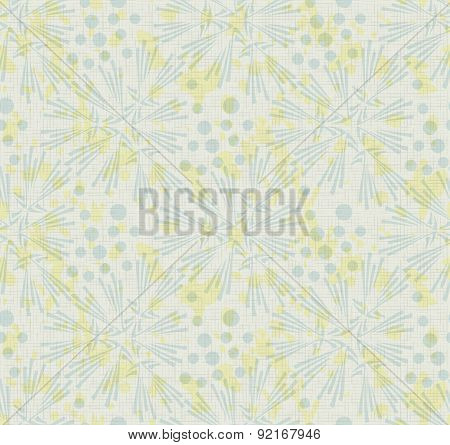 Vector abstract vintage rustic seamless pattern