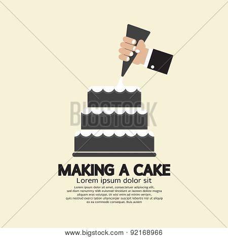 Making A Cake.