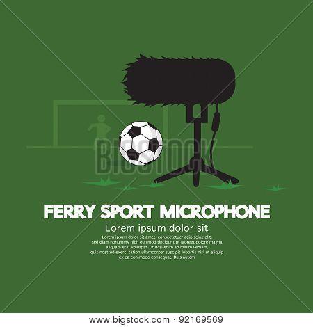 Furry Sport Microphone.