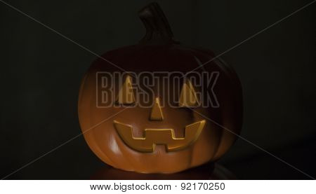 Jack O' Lantern Lit From Below