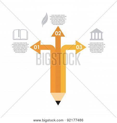school design over white background vector illustration
