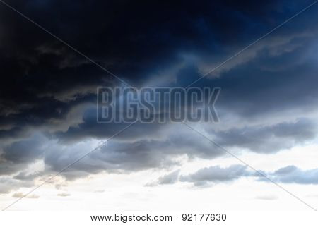 Dark Clouds Before Thunderstorm