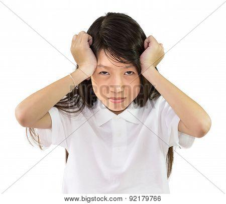 Girl Has A Headache