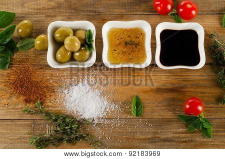 Dressing Ingredients