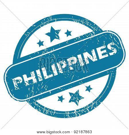 PHILIPPINES round stamp