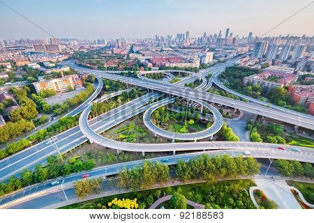 City Interchange In Tianjin