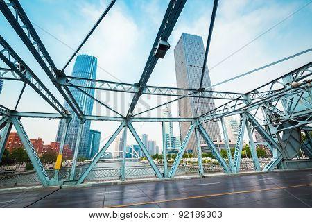 Tianjin Liberation Bridge Closeup