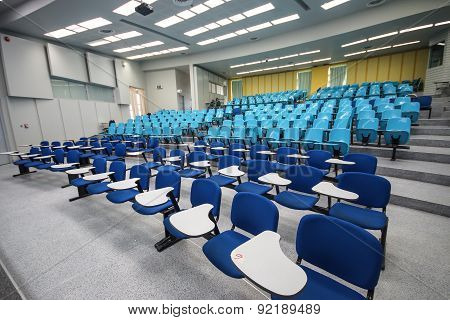 A large classroom