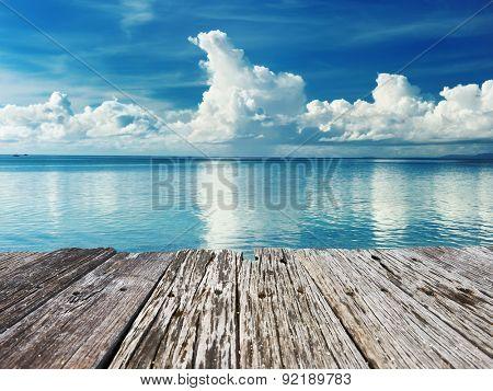 Beautiful beach at Bohol, Philippines