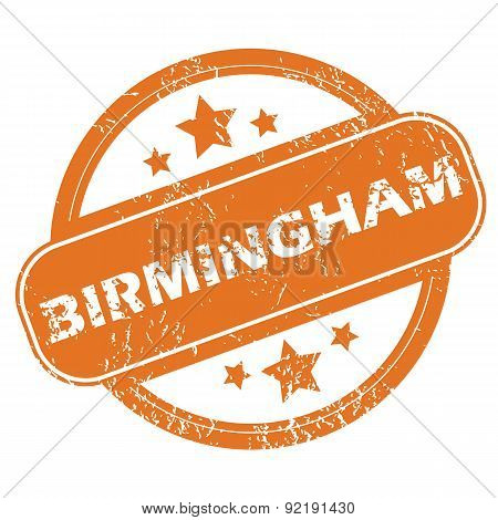 Birmingham round stamp