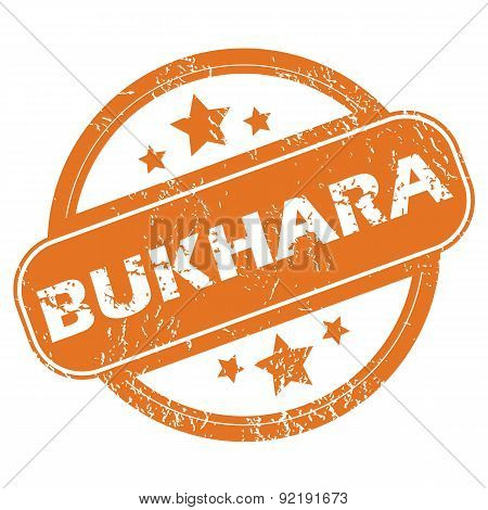 Bukhara rubber stamp