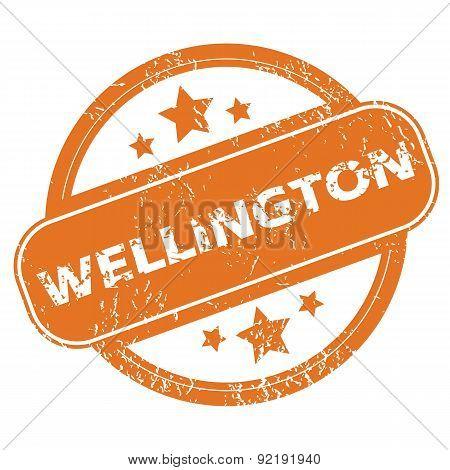 Wellington rubber stamp