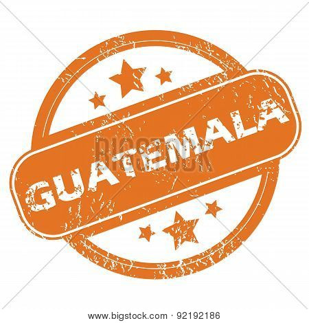 Guatemala rubber stamp