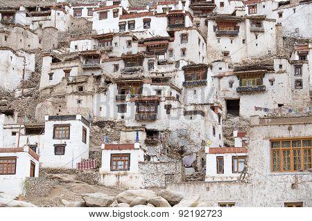 Chemdey Buddhist Monastery In Ladakh, India