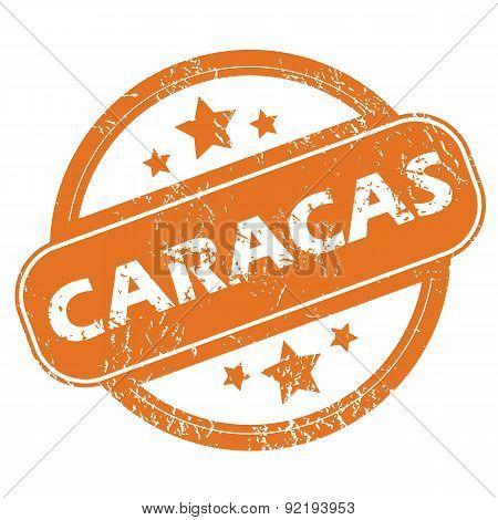 Caracas round stamp
