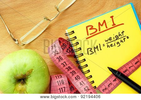 BMI body mass index formula