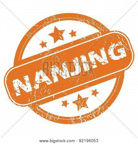 Nanjing round stamp