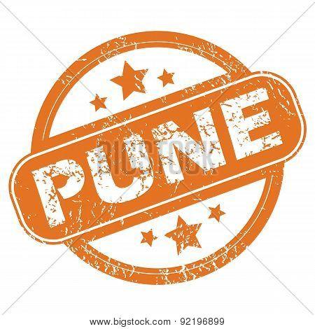 Pune round stamp
