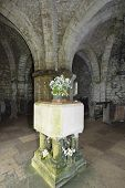 picture of chapels  - Interior of 800 year old St. Aldhelm