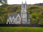 foto of tribute  - Cathedral built by the original builder of Kylemore Abbey in Connemara - JPG