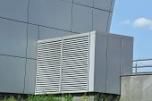 stock photo of ventilator  - Industrial air conditioning and ventilation systems on the sreet - JPG