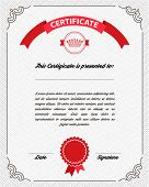 image of currency  - Template diploma - JPG